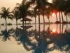 Reflection of Sun Rise